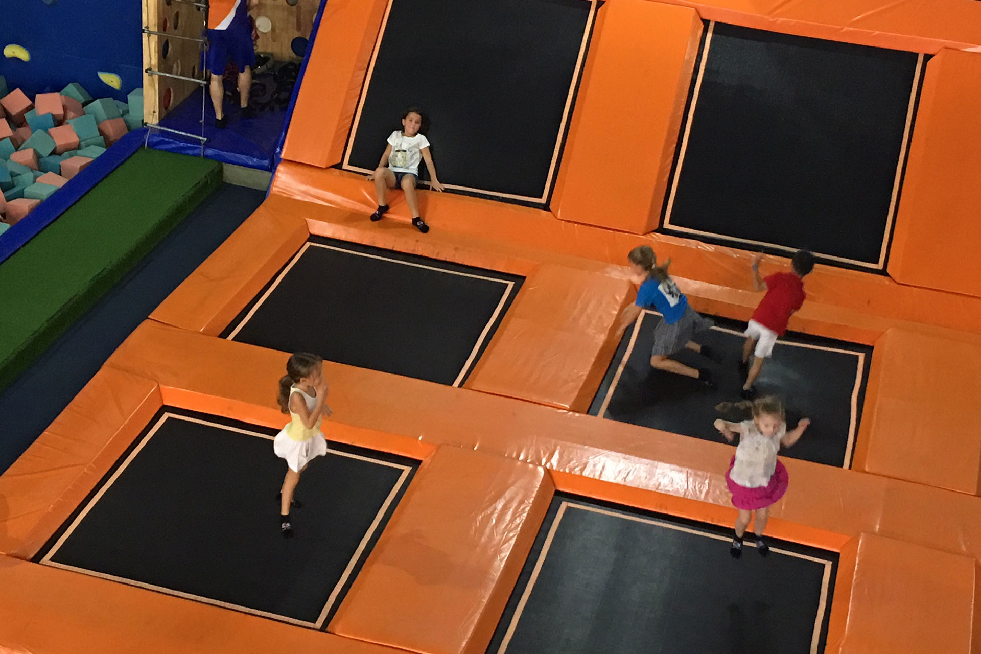Jump Arena Saigon. Indoor kids activities Saigon, Indoor play HCMC, bouncing Ho Chi Minh City