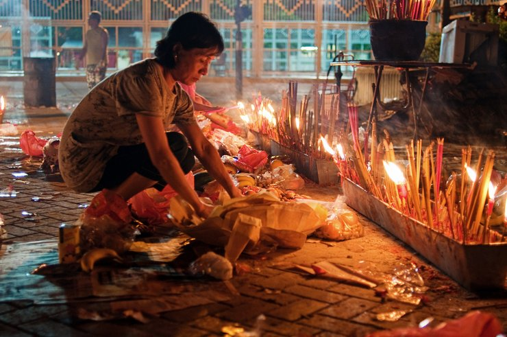 Hungry Ghost ViHo Chi Minh City, , Lunar calendar,