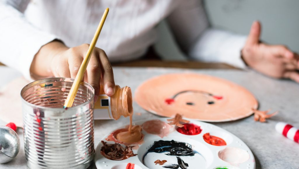 paiting lessons for children and adults in Saigon