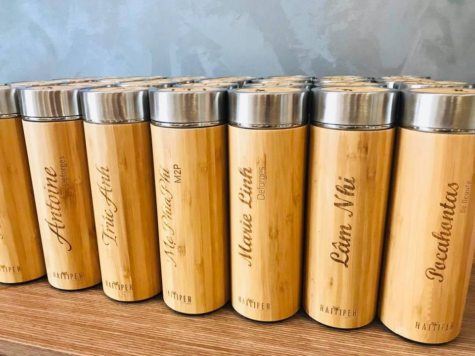Personalized gift, water bottle, re usable water bottle, bamboo water bottle, great teachers gift