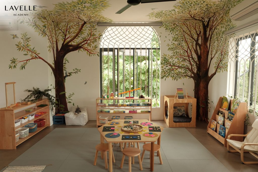 Classrooms designed so that children can learn the way they learn best