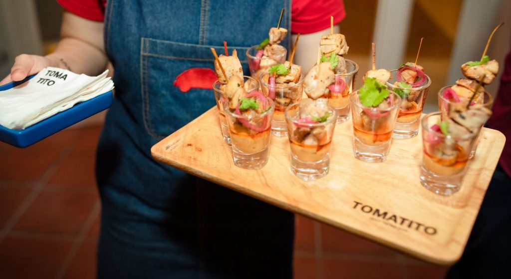 Get it catered: Tomatito Catering will take care of your next party